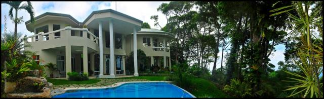 Dominical real estate, luxury home for sale, mansion, 17 acres, ocean view, pool, 4 bedrooms, 5 baths, lagunas, huge house, private land, secluded, vacation rental, high end home