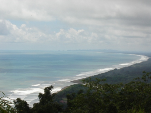 dominical real estate, hotel property for sale, world class view, best view in zone, football field size building site, playa dominical, property for sale, 360 views, parcel for resort, $850k,