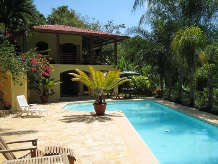 Ocean view house for sale in dominical, Lagunas, House for sale, value, investment opportunity, vacation rental, retire in costa Rica, baby boomer, reduced price, panoramic ocean view, pool, lap pool, fruit trees, huge property, large parcel, land, paradi