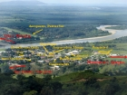 Intersection Commercial Property, Palmar norte, Palmar sur, future airport, Southern Zone, Osa, Drake Bay, Domiical, Uvita, Property arial view