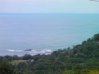 Dominical real estate, property for sale, ocean view lot, in escalares, dominicalito, dominical, ready to build, power, water, creek, island, view, marina vista lot 4