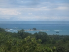 Dominical real estate, property for sale, estate property, 12 acres, ocean view, bay view, boat view, near restaurants, supermarkets, access, sunset view, private secure, tranquil, peaceful, huge natural building area, rental, investment, retirement prope